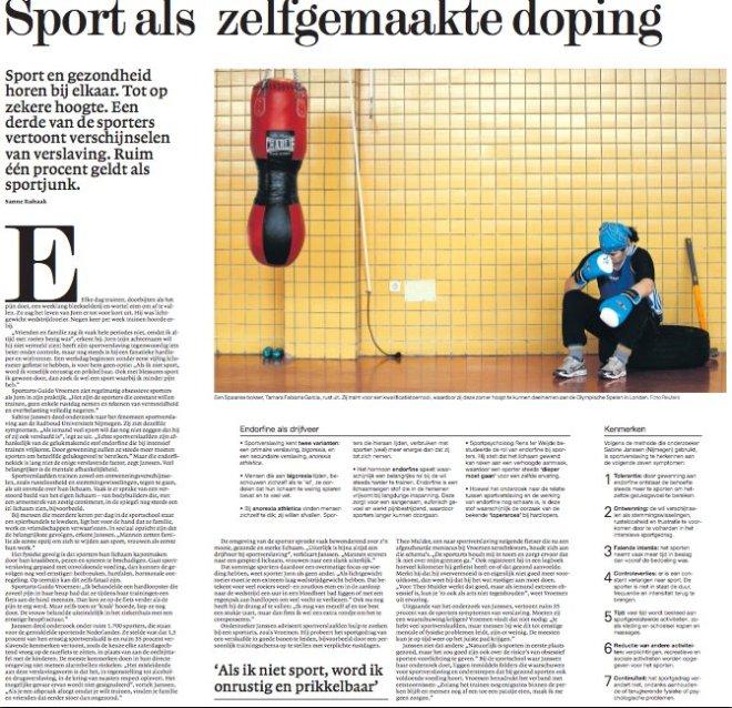 Sanne Ruhaak NRC 29-05-2012